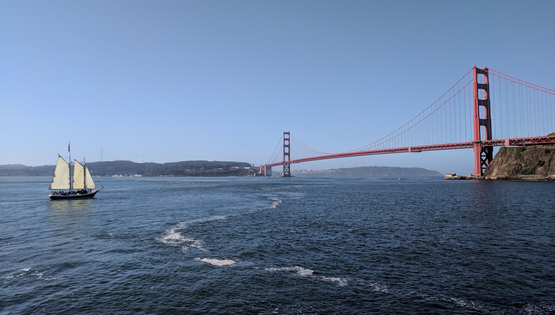 Golden Gate Bridge Transit Boat