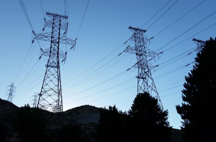 Transmission lines California