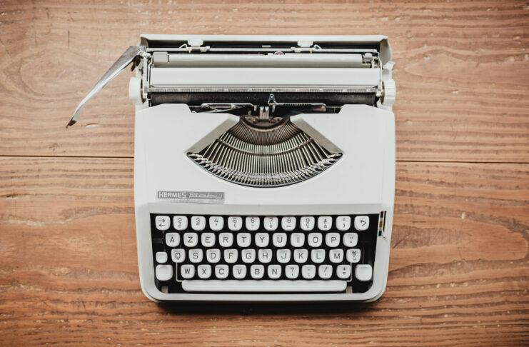 typewriter opinion newspaper