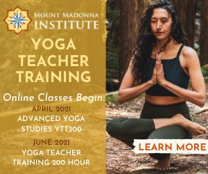 Mount Madonna Institute online yoga