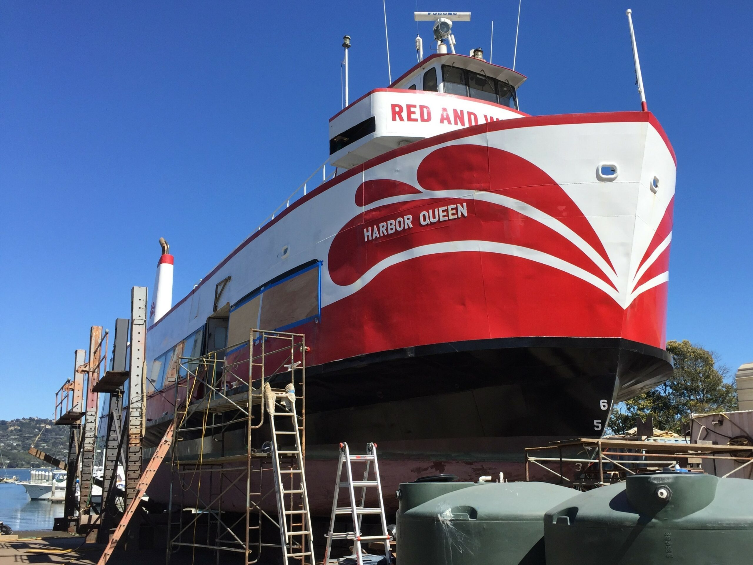 Marinship, Red and White Fleet, Marin County
